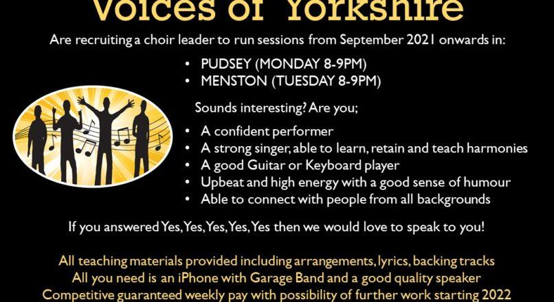 Choir Leader – Leeds Area